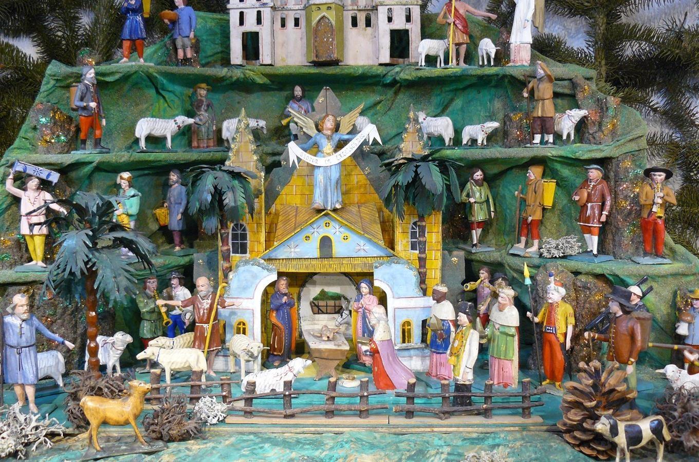 Vánoční výstava historických betlémů