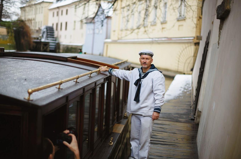 Zimní plavby Pražskými Benátkami