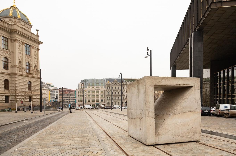 Socha Tvárnice u Národního muzea